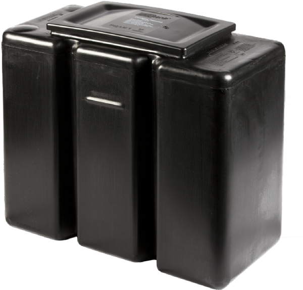 68 Litre / 15 Gallon Rectangular Polytank PT2 Cold Water Storage Tank 24-12-20